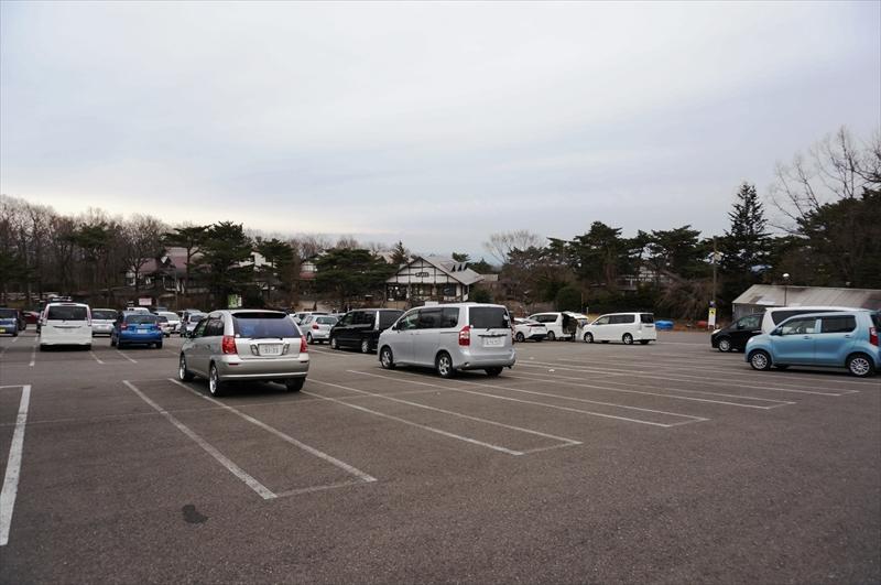 ホテルエピナール那須 駐車場